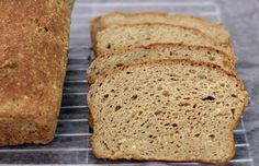 Brown Sandwich Bread with Teff, Gluten-Free - Girl Cooks World Gluten Free Brown Bread Recipe, Gf Bread Recipe, Gluten Free Cooking, Irish Recipes, Gf Recipes, Gluten Free Recipes, Cooking Recipes, Bread Recipes, Healthy Recipes