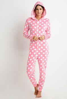 PEDIDOS SOLO POR ENCARGO #Forever21 Código: F-46 Heart Print Plush Jumpsuit Color: Pink/white Talla: S-M-L Precio: ₡29.500 ($54,73)  Información y consulta llamar (506)8963-3317, escribir al inbox o maya.boutique@hotmail.com. Envíos a todo el país.
