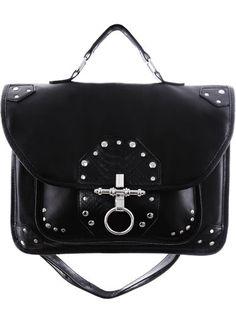 Restyle-Gothic-Tasche-Snake-Bite-Satchel-Nugoth-Handtasche-Occult-Briefcase