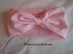 How to Make a Baby Headband. This is stupid-easy...I'm making two today-- one for M and one for her big sister! :)