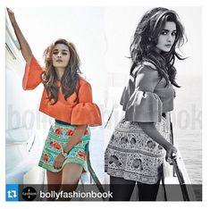 The orange & green hues of an Italian summer afternoon shine bright on ‪#‎AliaBhatt‬ as she flaunts an embroidered skirt from the brand new #PANAREA Collection for #SS15.  Available at our Meherchand Store now, & online at www.piapauro.com