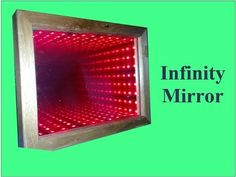 How To Make An Infinity Illusion Mirror - Simple Build (Tutorial) - YouTube