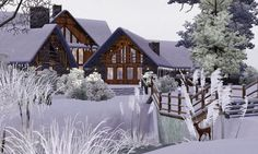Sims 3 Updates - Lady Venera: The Lake House by Laura13