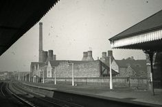 View all the latest pictures in the gallery, Unseen images of Longton: Bert Bentley Collection, on Stoke Sentinel. View toward Foley Crossing subsidence crack to right of station Unseen Images, Stoke On Trent, Latest Pics, Old Photos, Restoration, Louvre, The Unit, Gallery, Building
