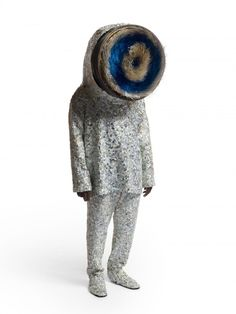 Slobot Inspiration: Nick Cave makes robotic looking sound suits!