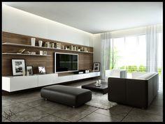 Salón moderno minimalista