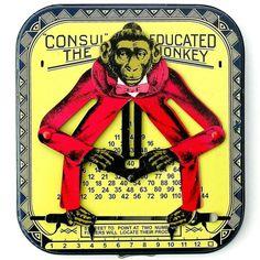Monkey multiplier/calculator  Make your own.