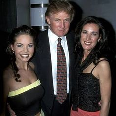29 Pictures Of Donald Trump With Women That Are Hard To Look At Now Donald Trump Pictures, Miss Teen Usa, Victoria Silvstedt, Presidential History, John Trump, Katie Couric, Trump Birthday, Poses For Photos, Ivanka Trump