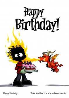 cute dragon birthday card :-)