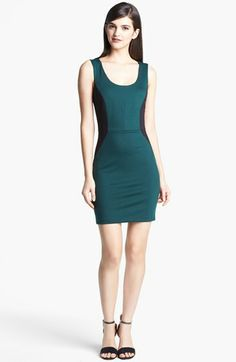 Robbi & Nikki Colorblock Ponte Sheath Dress available at #Nordstrom