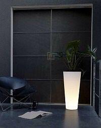 we hebben weer nieuwe verlichte bloempotten binnen alle modellen van elho verlicht je huis