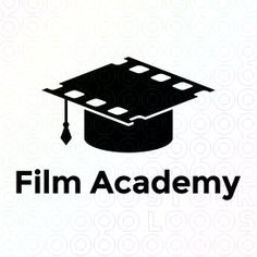Film Academy logo #logo #mark #symbol #design #mistershot #film #movies #academy #school #cinema #video