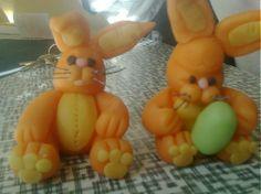 Velkonocne zajaciky by risskaa - SAShE.sk - Handmade Bábiky