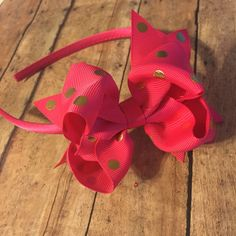 boutique hair bow hair clip hair accessory baby girl toddler headband #bowtifulblessings