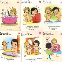 Love is... cartoons