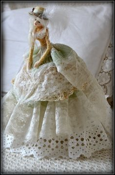little tea doll - my shabby white home