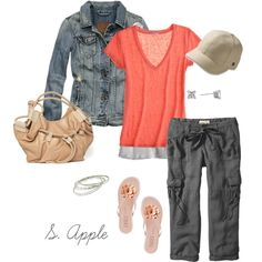 """What I wore today..."" by sapple324 on Polyvore"