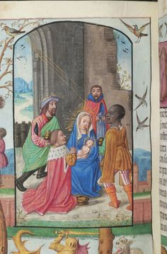 Book of Hours, M.363 fol. 79v - Images from Medieval and Renaissance Manuscripts - The Morgan Library & Museum