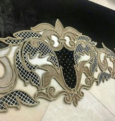 Curtain Call, Scroll Design, Wall Organization, Decoration, Drapery, Creative Design, Decor Styles, Carving, Embroidery