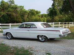 1962 Impala - Like one I had in early 70s.  327 with P-Glide & Carmel interior.  Smooth ride.