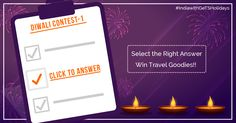 DIWALI CONTEST 1: Let's spread the word! CLICK Participate and Win amazing Goodies by answering this Simple Question!!! Share the poll with friends and fans.