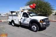 2007 #Ford #F550 $26,500.00 US #Bucket #Truck, 6.0L #Diesel, #Automatic, #4x4, A/C, ETI ETC-37-IH #Articulating & #Telescoping Boom, 42' Working Height, Upper & Lower Controls, 10' Utility Bed, Flip Top Tool Box, 110V Inverter, 2 #Hydraulic #Outriggers, #Directional #Light, #Backup #Camera, Dielectric Tested & Certified, Ex-Utility #Company, #California #Truck, 267 PTO Hours, Odometer Reading 142,261 Miles. Subject To California ARB Regulations.