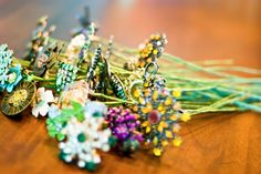 Brooch Bouquet How-To