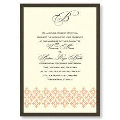 Contessa Wedding Invitations