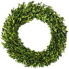 "Smith & Hawken® Boxwood Wreath - 21.25"""