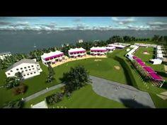 Vidéo du parcours 3d de l'Evian Masters 2013