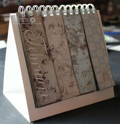 Kottens corner: Other  My Bind It All calendar.