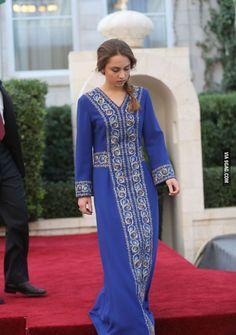 "Princess Iman Bint Abdullah. Daughter of the badass King of Jordan  who said ""Vladimir Putin? never heard of her"""