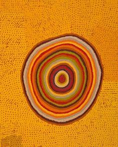 Maggie Green Untitled Acrylic on linen, x Spinifex Hill, Port Hedland The Pilbara. Aboriginal Painting, Aboriginal Artists, Dot Painting, Indigenous Australian Art, Indigenous Art, Arte Tribal, Tribal Art, Kunst Der Aborigines, Illustration Photo