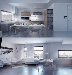Types Of White Dining Room Concept Design Combine With Wooden Accents - RooHome | Designs & Plans