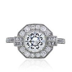 Platinum Art Deco Inspired Round Diamond Engagement Ring Raymond Lee Jewelers http://www.amazon.com/dp/B00F4C1CK6/ref=cm_sw_r_pi_dp_ZVM2ub16YRCW3