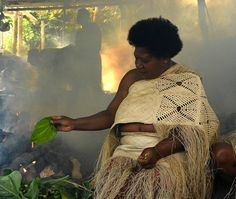 A female cultural leader known as a Notari cooks food in a traditional earthen oven in a burning cloud of wood smoke. The World Health Organization estimates 4.3 million people worldwide die prematurely annually from the effects of household air pollution caused by dirty cookstoves. #vanuatu @femalechiefs @the_explorers_club #lexarmemory #NikonUSA #optechusa #HuangMenders #worldhealthorganization To see insider views and behind-the-scenes follow us on Instagram: http://bit.ly/HMPhoto1…