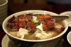 roast duck & wonton noodle soup @ hk wonton garden