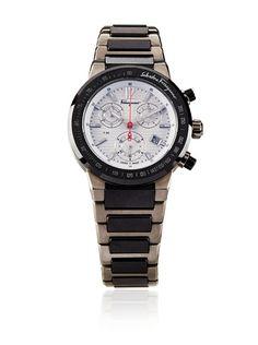 $2000 Ferragamo Men's F54MCQ78901 S789 F-80 Chronograph Tachymeter Titanium Watch at MYHABIT - http://myhabit.com/ref=qd_mr_per_l?refcust=R3RTILAGMXE7PZWNU6IYI4T2XM