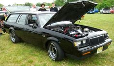 """Buick Regal Station Wagon, customized with Buick Grand National """"Sport Wagon"""" looks (of which no such vehicle was ever manufactured). It looks good, but it's still just a Buick Regal."""