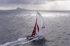 Leg 5, day 12. MAPFRE rounding Cape Horn in 4th position. Photo by Rick Tomlinson / Volvo Ocean Race