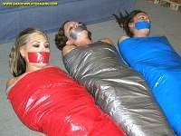 mummification bondage plaza self and Gromets