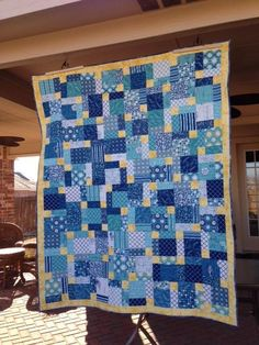 Quilting: Disappearing nine patch