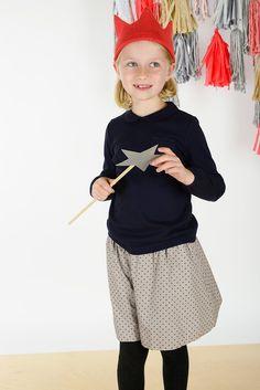 Rosalind Topper and Autum skirt | Olive Juice #holidayoutfit #girlsfashion