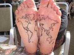 #world #map #feet #world #map #feet