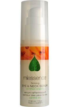 Miessence Firming Eye and Neck Serum  - Certified Organic