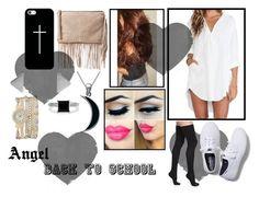 """Angel Back School"" by sumoraeszanna on Polyvore"