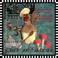 Chef Au Saucier ~ Sarah Hudock