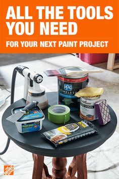 Choosing the right prep products and application tools will provide a better painting experience, from star… Refurbished Furniture, Paint Furniture, Repurposed Furniture, Furniture Projects, Furniture Makeover, Home Projects, House Painting, Diy Painting, Star Painting