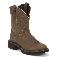 Justin Gypsy Women's Square Toe Western Boots I own these and I love them <3