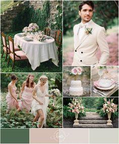 Secret Garden Wedding Inspiration Via Gie Pantazis Howard Sayers Wed